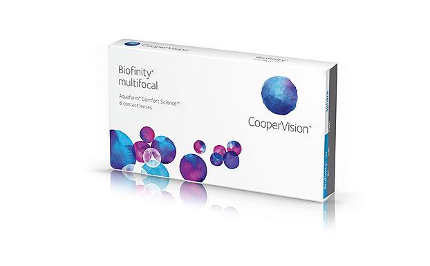Ежемесячные Контактные линзы Biofiniti multifocal