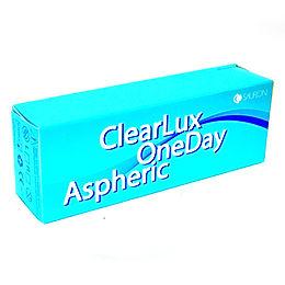 CLEARLUX ONEDAY ASPHERIC Однодневные линзы 2 упаковки