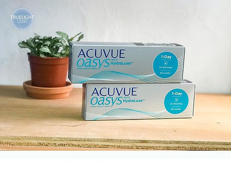 1-Day Acuvue Oasys with HydraLuxe Однодневные контактные линзы