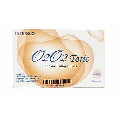 Ежемесячные контактные линзы O2O2 toric