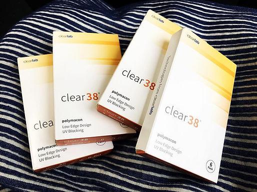 Контактны линзы Clear 38 на 3 месяца