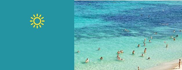 Детские солнцезащитные очки - фотография с моря