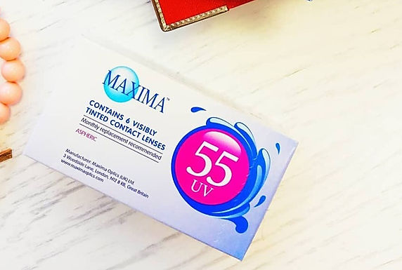 Maxima 55 UV Ежемесячные Контактные линзы