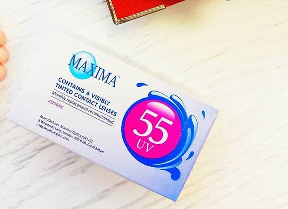 Maxima 55 UV Ежемесячные Контактные линзы на фото