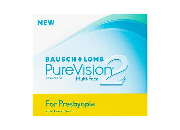 Ежемесячные Контактные линзы PureVision 2 Multi-Focal на фото