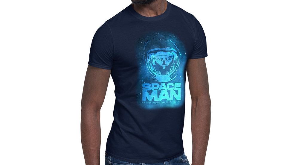 SPACEMAN DARK Short-Sleeve Unisex T-Shirt