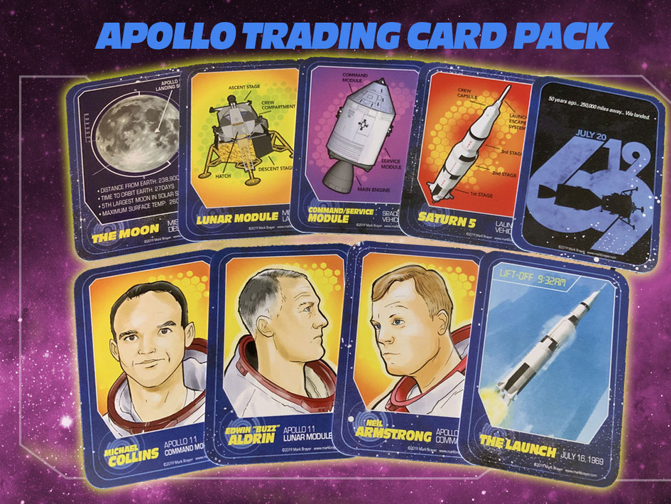 Apollo Trading Card Pack