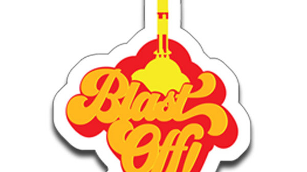 Sticker: Blast Off Sticker