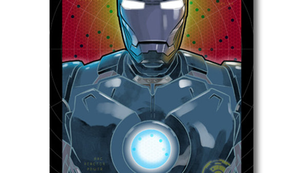Pop Culture: Ironman Mark II Print