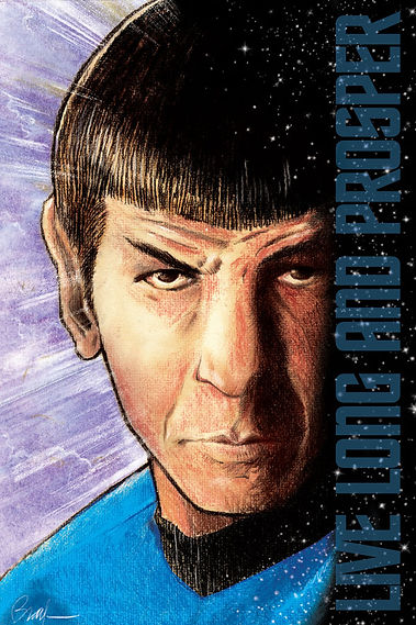 Mr. Spock Star Trek poster