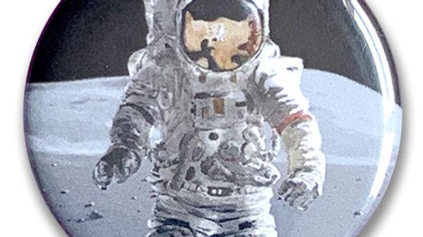 Button: Astronaut Button