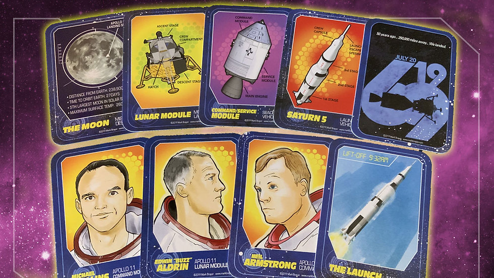 Apollo Missions Trading Card Pack