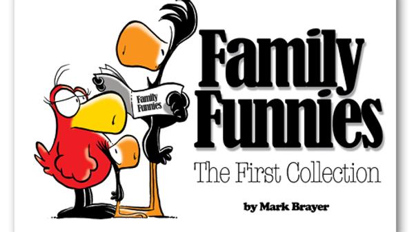 Pop Culture: Family Funnies Book