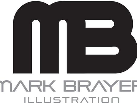 Mark Brayer Illustration Gets a Makeover