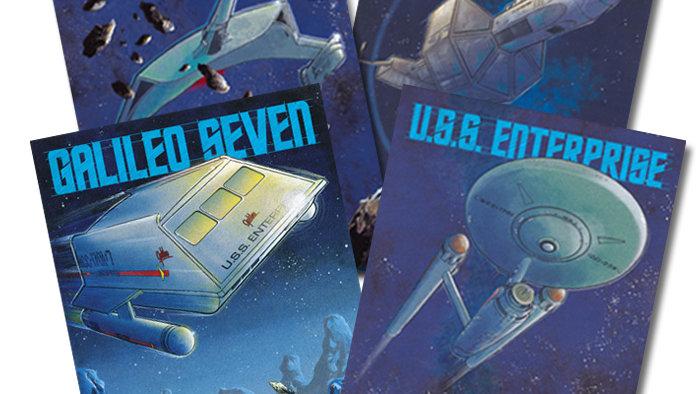 BETTER VALUE! Star Trek: Poster 4 Pack