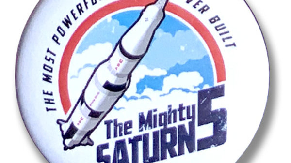 Button: Saturn 5