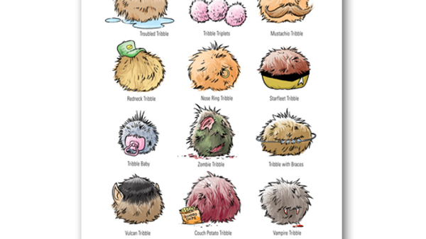 Star Trek: Tribble Personality Poster