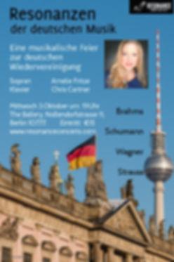 Resonanzen der deutschen Musik - Oktober