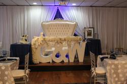 wedding letter sweetheart table