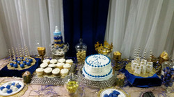 little prince baby shower cake table