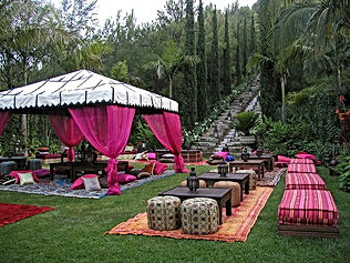 Jai Weddings and Events about us Tuscan Dinner table