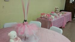 pink ballerina baby shower