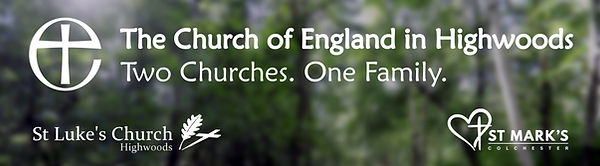 Parish Banner - The CofE in Highwoods (h