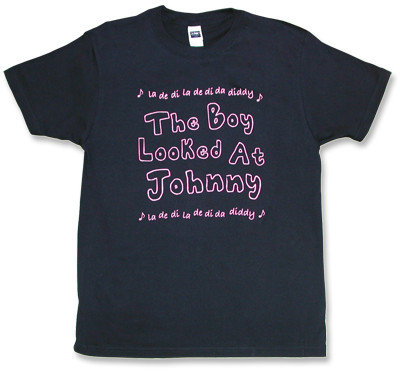 The Libertines(リバティーンズ)モチーフTシャツ