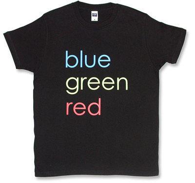 weezer(ウィーザー)モチーフTシャツblue・green・red