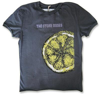 The Stone Roses(ストーン・ローゼズ) / レモン/LemonブラックTシャツ