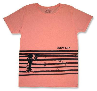 ボーダー「Rev Up」TシャツRezillos(Revillos)