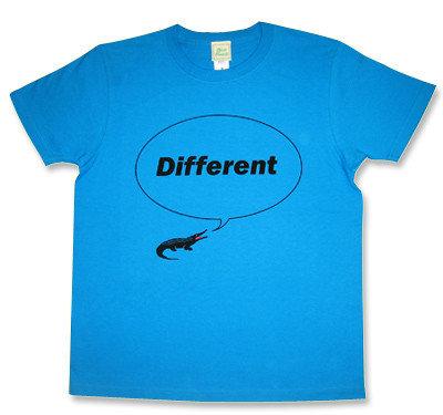 Beady Eye(ビーディ・アイ)モチーフ「Different」ワニTシャツ