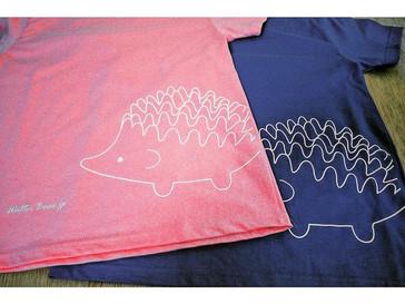 Walter Bosse.jpよりハリネズミビッグプリントTシャツが入荷しました。