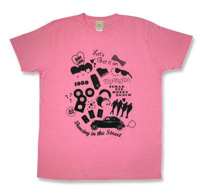 Motown(モータウン)モチーフコラージュTシャツ