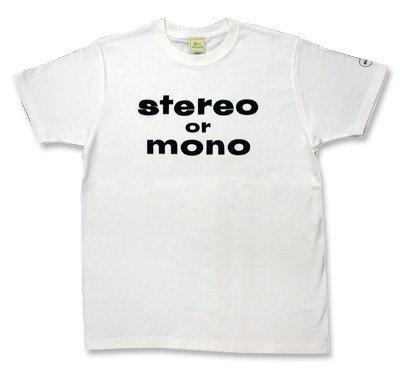 Stereo or Mono(ステレオ オア モノ) Tシャツ【Beatles09.09.09記念】