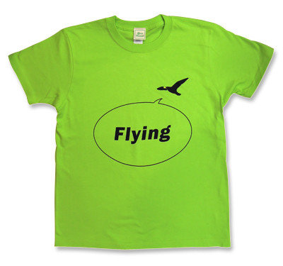 Noel Gallagher(ノエル・ギャラガー)モチーフ【Flying bird】Tシャツ