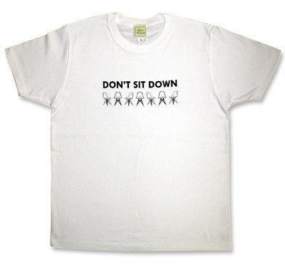 Arctic Monkeys(アークティックモンキーズ)モチーフ「DON'T SIT DOWN」
