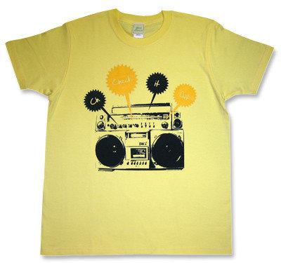 Beastie Boys(ビースティ・ボーイズ)モチーフ「Check」ラジカセTシャツ