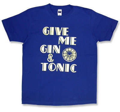 oasis(オアシス)Gin and tonicモチーフTシャツ