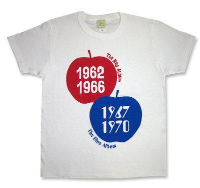 【Red Apple & Blue Apple】 Tシャツ