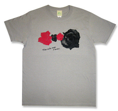 The Charlatans(シャーラタンズ)モチーフRoseTシャツ「The Only One」