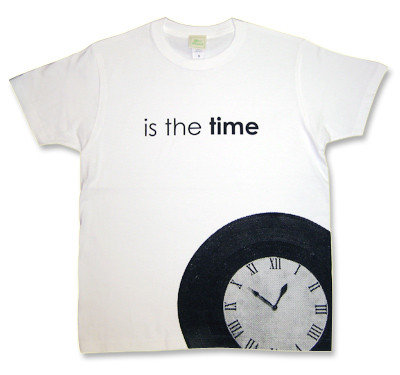 The Strokes(ストロークス)モチーフ「time」時計Tシャツ