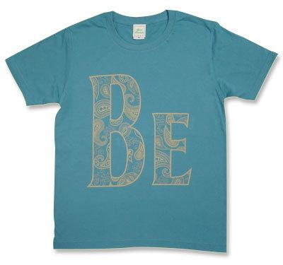 【BE】ペイズリーTシャツ「Beady Eye・Beatles」