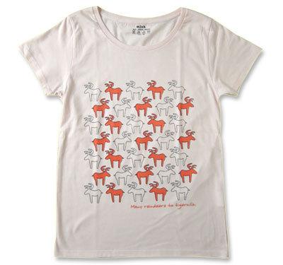 mjuk(ミューク)★Reindeer★Tシャツ