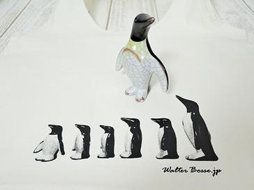 Walter Bosse.jp★コットンショッピングバッグ/ペンギン/natural/生成の発売を開始しました。