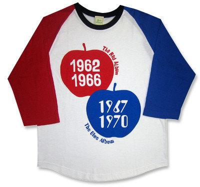 【Red Apple & Blue Apple】七分袖ラグランTシャツ
