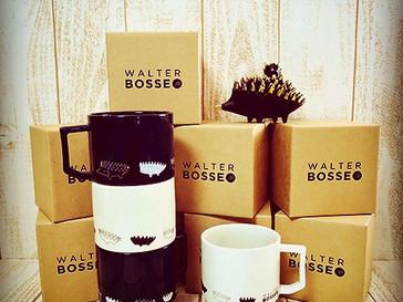 Walter Bosse.jp×HASAMIのコラボレート商品/ハリネズミのマグカップが発売されました。