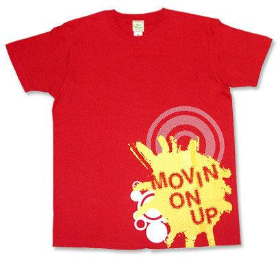 Primal Scream (プライマルスクリーム)モチーフTシャツ【Movin on up】