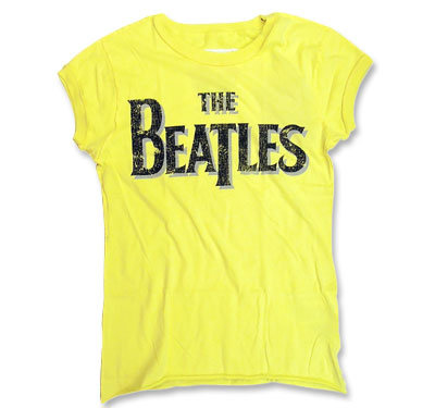 The Beatles(ザ・ビートルズ) / イエロー Tシャツ【Amplified】