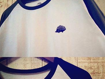 Walter Bosse.jp★ラグランTシャツ/ハリネズミの発売を開始しました